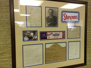history of stevens sausage company
