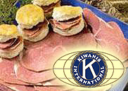 kiwanis club ham biscuits ham and yam