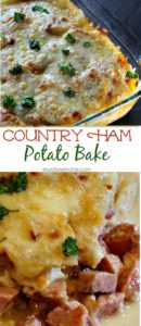 country ham potato bake