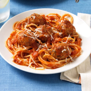 spaghetti-and-sausage-meatballs