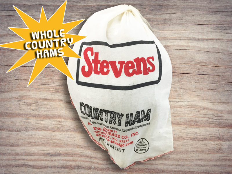 stevens whole country hams